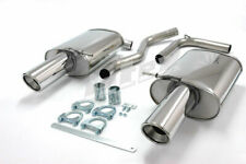 Audi A4 (B6/B7) 2WD 1.8T Cabriolet 01-09 Stainless Jetex Back Boxes 44DB2R