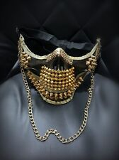 Cosplay Steam Punk Gothic Man Rivet Mask Biker Halloween party Cool mask