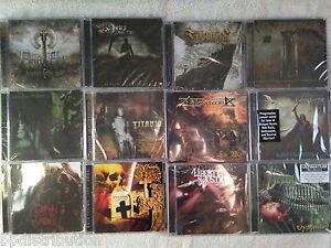 BULK LOT 100 HEAVY METAL CDs- NEW- Factory Sealed- Classic/Death/Black/Thrash