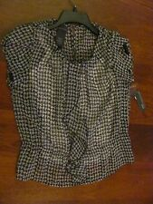 Covington Black & White Blouse 2 pcs Size MP  Buy Now $9.99