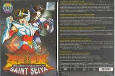 DVD Saint Seiya Complete Box Set Collection + 5 Movie + Lost Canvas 1 - 26 End
