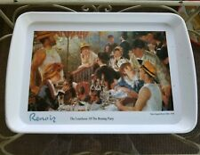 """12"""" x 18"""" White Melamine Serving Tray Renoir's 'Luncheon of the Boating Party'"""