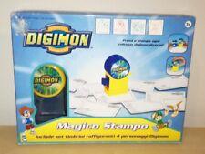Magico Stampo Digital Monsters Digimon Set Timbrini 4 Personaggi giochi preziosi