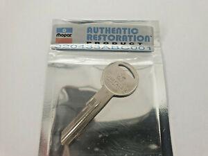 Chrysler Valiant Mopar Boot Key Blank : all Chrysler Valiant  models 1960-1981
