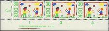 DDR Nr. 1285 mit DWD postfrisch im Bogenteil, DV , Druckvermerk