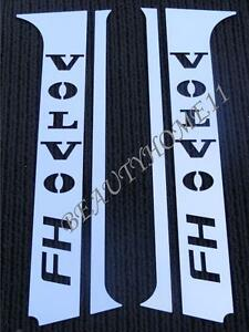 Set of 4 pcs. Door Pillars For VOLVO FH4 Made Of Polished Stainless Steel
