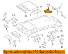 MERCEDES OEM 13-16 GL550 Interior-Roof-Compartment Lamp 16682000237E94
