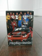 New Sealed Coca-Cola Nascar Bicycle Brand Playing Cards