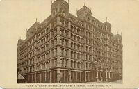 NEW YORK CITY – Park Avenue Hotel (Fourth Avenue Between 32nd and 33rd Streets)