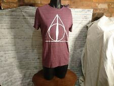 Harry Potter Deathly Hallows Printed T-shirt Tee Short Sleeve Primark
