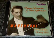 MANTOVANI-TANGOS, CONCERTOS-THE EARLY YEARS-ORIG RECORDINGS 1940-1949-CD 1999