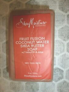 SHEA MOISTURE~DULL,DRY SKIN~FRUIT FUSION COCONUT WATER SHEA BUTTER SOAP 8 OZ