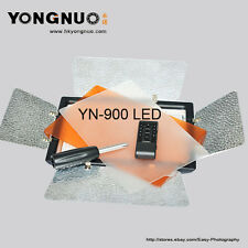 YONGNUO YN-900 LED Video Light 3200K-5500K For Camcorder with AC power adapter