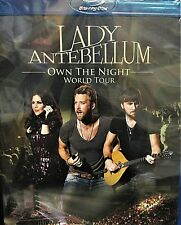 Lady Antebellum:NEW! Blu-ray ,Own the Night 2012 World Tour Live concert, Grammy