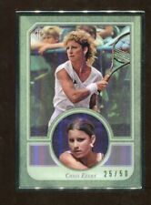 2020 Topps Transcendent Tennis Chris Evert Base Card Metal Frame 25/50