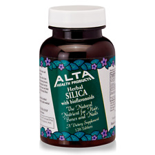 Alta Health Products Herbal Silica with Bioflavonoids 500 mg 120 Tabs