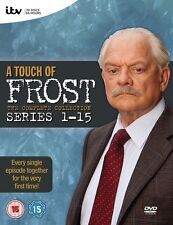 A Touch of Frost  Series 1-15 Complete Dvd Box Set New