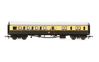 Hornby R4680A OO Gauge GWR Collett Bow Ended Corr Brake 3rd R/H Coach