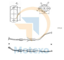 Exhaust Catalytic Converter TOYOTA CELICA 1.8i 16V 192 bhp 2ZZGE 8/00>8/05
