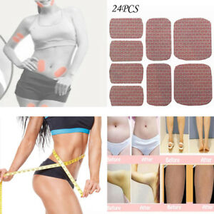 24pcs Wonder Slimming Patches Belly Arm Leg Fat Lose Body Exercise Slim Patch LO