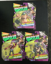Playmates Nickelodeon Tmnt Wanted Bebop & Rocksteady Lot Of 3 New