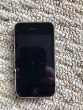 APPLE iPhone 3G 8GB BLACK Smartphone For Parts or Repair