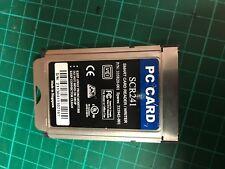 Scm SCR201 SCR-201 Smart PC Card PCMCIA Lector/escritor