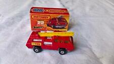MATCHBOX SUPERFAST #22 MK 6 BLAZE BUSTER RED YELLOW LADDER & WINDOWS MINT BOX
