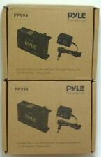 Lot of (2) PYLE PRO PP999 Phono Turntable Pre-Amplifier