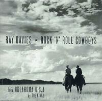 "RAY DAVIES / THE KINKS ‎– ROCK 'N' ROLL COWBOYS 7"" VINYL SINGLE (NEW/SEALED)"