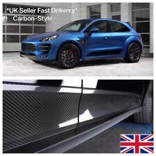 Porsche Macan Carbon Fiber Side Blades Exterior Trim Panels