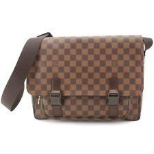 5c3c1f0d022f4 LOUIS VUITTON Damier Messenger Melville Shoulder Bag Ebene N51125 90070397