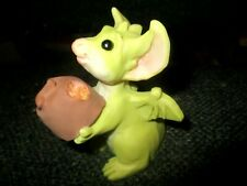 1993 Whimsical World Lilliput Real Musgrave Want A Bite? Retired Pocket Dragon