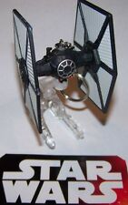 """CUSTOM MADE..STAR WARS """"NEW HOPE"""" TIE FIGHTER (BLACK) KEYCHAIN..GREAT GIFT"""