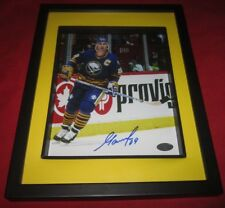 Alexander Mogilny 8x10 Framed SIGNED Buffalo Sabres picture  SPORT AUTHENTIX