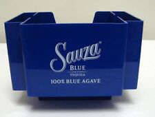 Sauza Blue Tequila Napkin Straw Stir Stick Caddy Holder Swizzel New