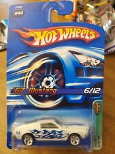 2006 Hot Wheels White 67 Mustang  Treasure Hunt Col#44