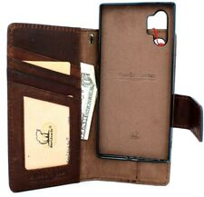 Genuine Leather Case for Samsung Galaxy Note 10 Plus Wallet Removable wallet IL
