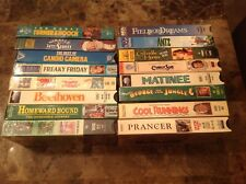 Family Movies Rated Pg & G ~ 16 Vhs videos - Beethoven Antz Freaky Friday Etc
