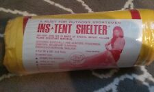 camping tent compact light INS yellow outdoors sports emergency shelter