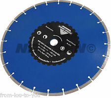 "14 "" - 350 mm Diamond Cutting Disc - concrete tiles stone brick masonry blue"