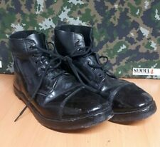 Genuine British Army issue Drill / Ammunition combat boots. - 12 M - Grade - 1