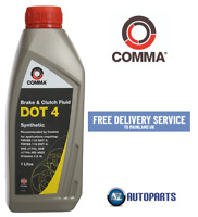Comma - DOT 4 Synthetic Brake & Clutch Fluid 1 Litre 1L - BF41L