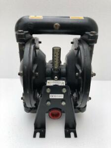 """INGERSOLL RAND ARO 650717-C AIR DOUBLE DIAPHRAGM PUMP 1"""" ALUMINIUM"""