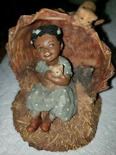 All God's Children Sadie Martha Holcombe Figurine 1991 They Can't Find Us Here
