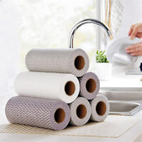 Non-Woven Fabric Washing Cleaning Cloth Towels Kitchen Towel Disposable DD