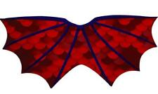 Red Dragon Wings Child's Cape, Fancy Dress Costume