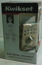Kwikset 92640-001 Electronic Keypad Single Cylinder Deadbolt $134