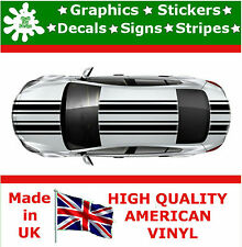 "Dual 7"" Racing Stripes Stickers Decal Art Car Auto Rally Graphics Sport JDM P1_7"