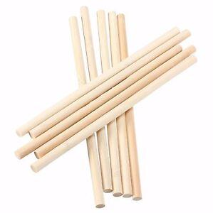 Round  Birch Wooden Lollipop Sticks - Sweets - Lollipops - Crafts - Model Making